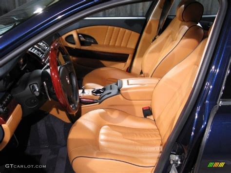 blue maserati interior 2006 blue maserati quattroporte 18514499 photo 6