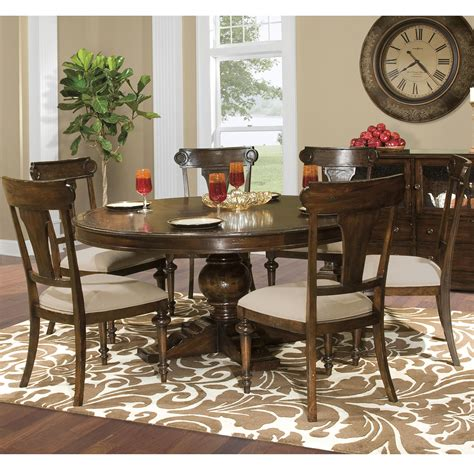 charleston table and chairs hekman charleston place table and side chair set