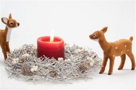 foto candele natalizie candele natalizie segnaposto