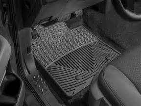 Rear Floor Mats Canada All Weather Floor Mats Front And Rear Black 301821 At