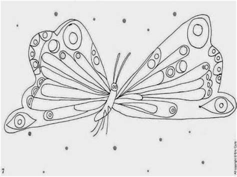 224 Best Images About La Peque 209 A Oruga On Pinterest Hungry Caterpillar Butterfly Coloring Page