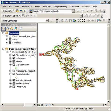 arcgis 10 layout view blank exercise 3 editing and layout of schematic diagrams help