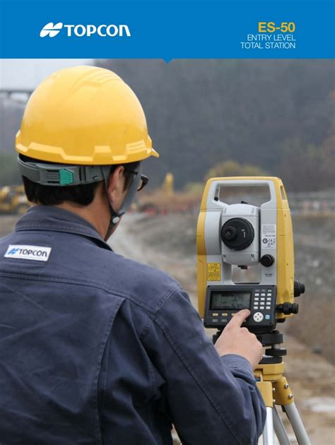 Topcon Es 55 Total Station by Jual Total Station Topcon Es 50 Series Es 55 New