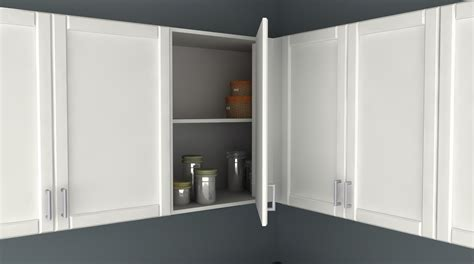 Corner Storage Cabinets For Kitchen ikea kitchen hack a blind corner wall cabinet perfect for