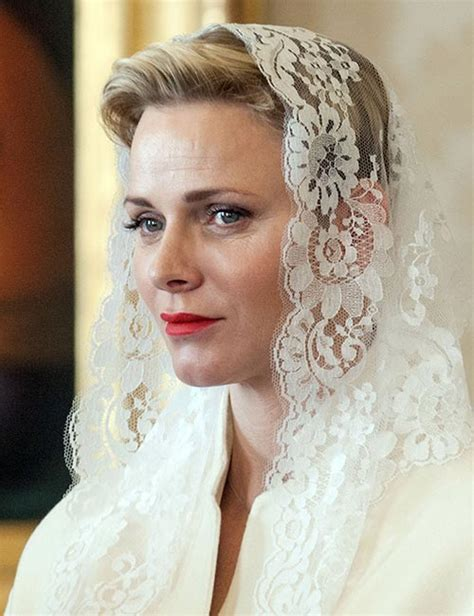 princess charlene wedding hair princess charlene s best moments photo 1
