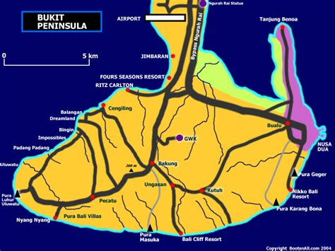 peninsula resort bali map bali bukit peninsula surf trip destination and travel