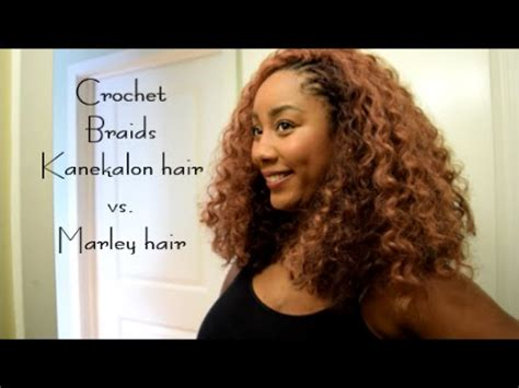 marley hair vs kanekalon hair marley vs kanekalon crochet braid hair invisible crochet