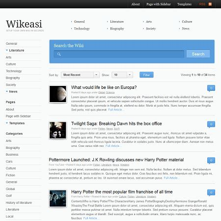 Theme Wordpress Wiki | theme wordpress wiki