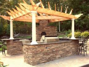 outdoor kitchen roof ideas outdoor unique roof built rustic outdoor kitchen designs