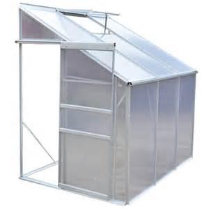 serre aluminium polycarbonate serre de jardin en aluminium et polycarbonate au choix 1