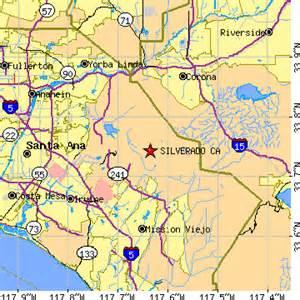 silverado california map silverado california ca population data races