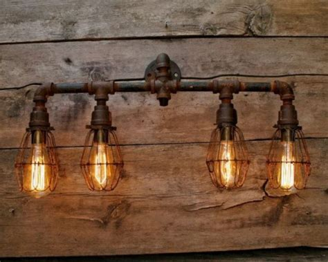 rustic bathroom lighting fixtures breakfast dining set images way to apply the buffet