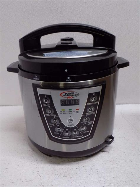 the power pressure cooker xl power pressure cooker xl pro pcxl pro6 silver ebay