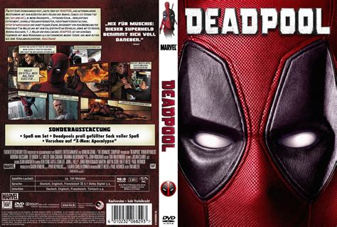 deadpool covers deadpool dvd cover 2016 r2 german