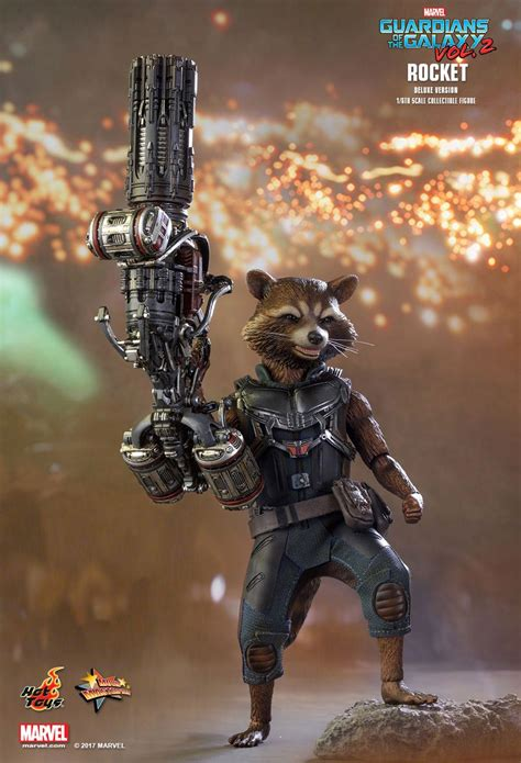Toys Cosbaby Rocket Raccoon Guardians Of The Galaxy Vol 2 toys rocket raccoon guardians of the galaxy vol 2 figure is awesome technabob