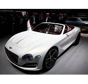 Bentley Unveils First Electric Concept Car PHOTOS