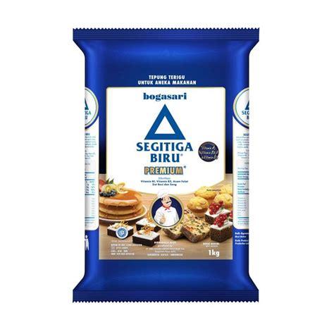 Tepung Segitiga Biru 1kg Murah jual bogasari tepung terigu segitiga biru 1000 g harga kualitas terjamin blibli