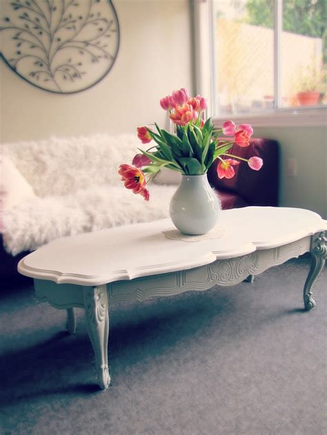 Chalk Painted Coffee Table 1000 Images About Coffee Tables On Pinterest Painted Coffee Tables White Chalk Paint And