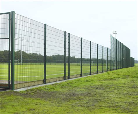 Football Fence Commercial by Schools Colleges Nurseries Tonbridge Fencing