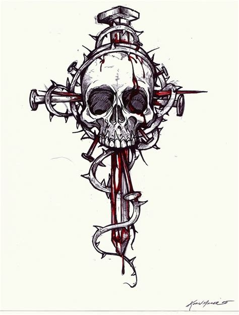 skull and cross tattoo designs 17 best images about crosses on cross