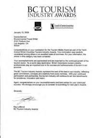 Scholarship Nomination Letter Award Nomination Letter Template Letter Template 2017