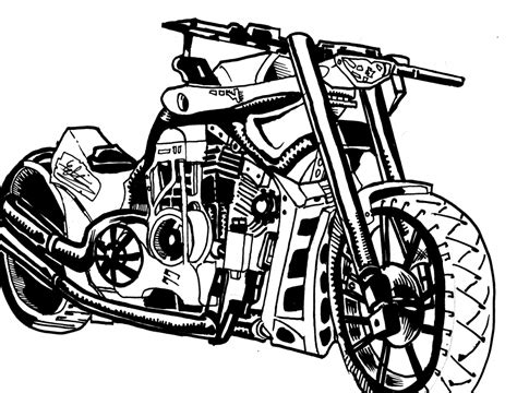 doodle speed draw pencil sketches of bikes motorcycle sketch speed drawing