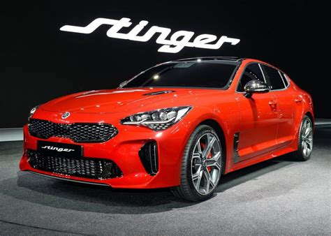 Who Is Kia Made By Seoul 2017 Kia Stinger Makes Asian Debut Auto News