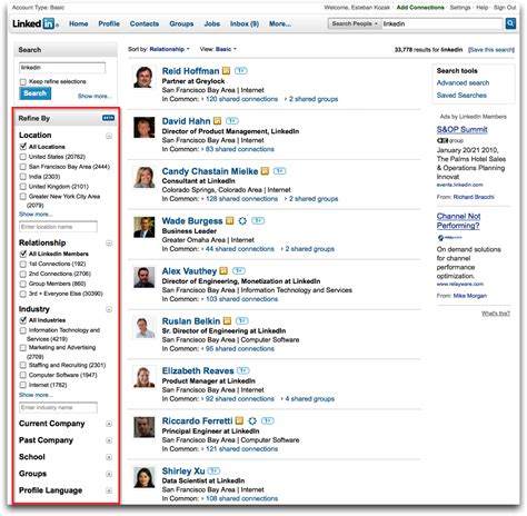 Search For On Linkedin Image Gallery Linkedin Search