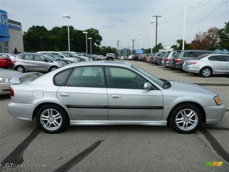 2003 Subaru Legacy Sedan by Silver Metallic 2003 Subaru Legacy 2 5 Gt Sedan