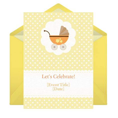 baby shower cards invitations free invitations baby shower
