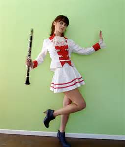 Draped Midi Dress 1960s Sgt Pepper Marching Band Majorette Costume Patriotic