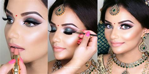 Wedding Hair Up Step By Step Guide by Indian Bridal Wedding Makeup Step By Step Tutorial With