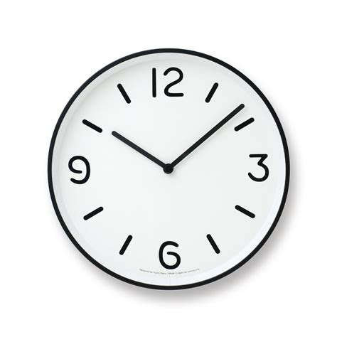 Mono Wall Clock in White design by Lemnos ? BURKE DECOR