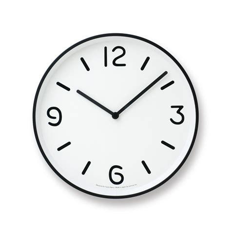 Mono Wall Clock in White design by Lemnos ? BURKE DECOR