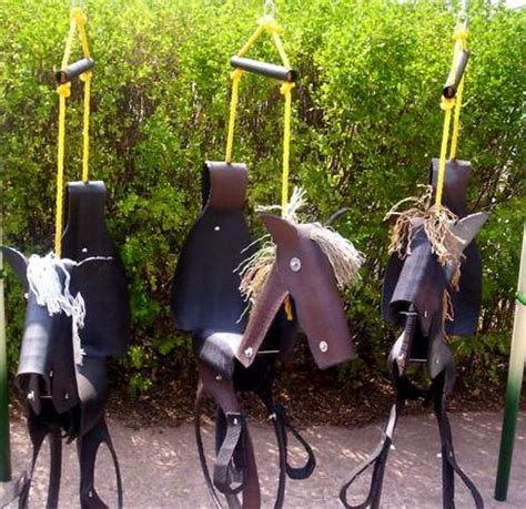 how to make horse tire swing horse tire swings yard art pinterest
