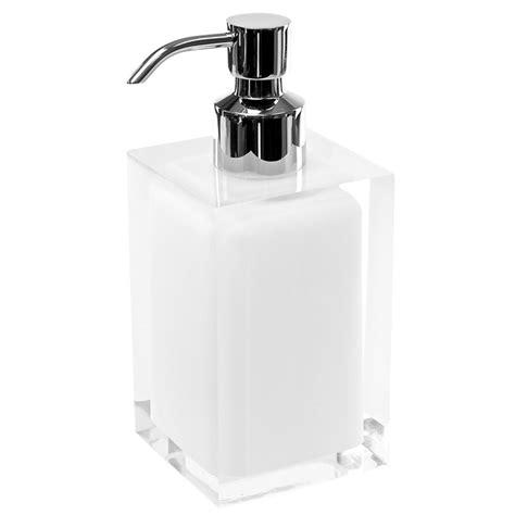 Modern Bathroom Soap Dispenser Rainbow Soap Dispenser With Curved Zuri Furniture