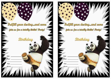 free printable kung fu panda kung fu panda birthday printable