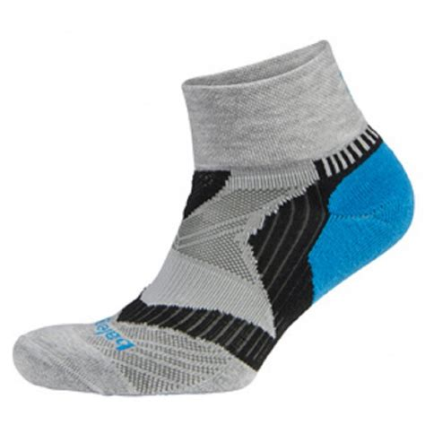 socks running enduro v tech quarter running socks grey turquoise black at northernrunner