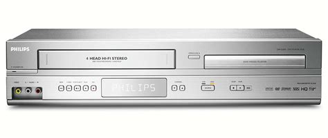 cassette vhs in dvd lecteur dvd magn 233 toscope dvp3200v 37 philips