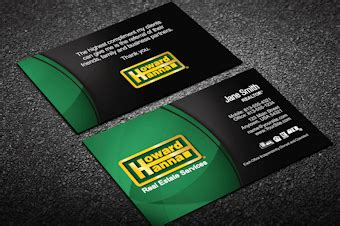 howard business card template howard business cards free shipping designs