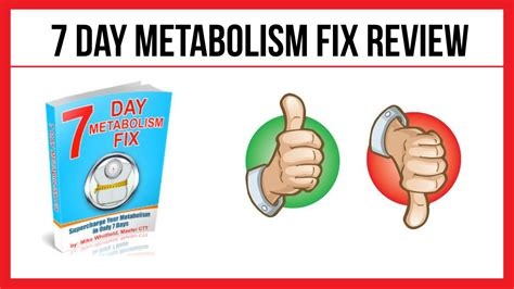 S Day Review 7 Day Metabolism Fix Review Examining Mike Whitfield S