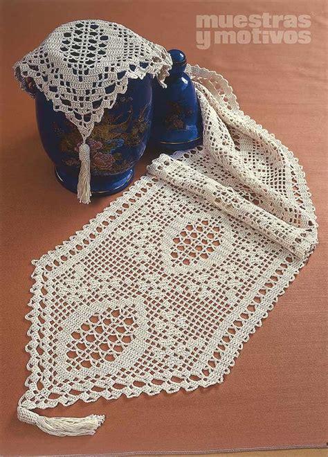 camino de mesa a crochet 2 40 muestrasymotivos crochet magn 237 fico camino de mesa