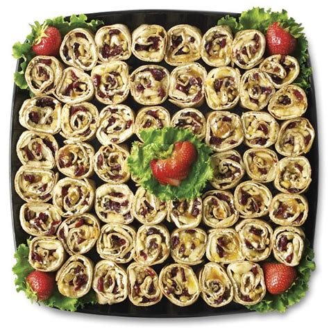 fruit platter publix publix deli fruit and nut roll up platter large publix