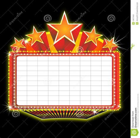 marquee sign broadway clipart marquee sign pencil and in color broadway clipart marquee sign