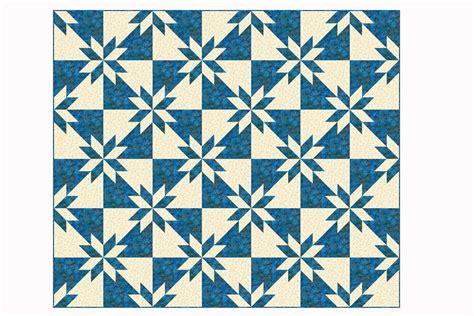 easy hunter s star quilt pattern