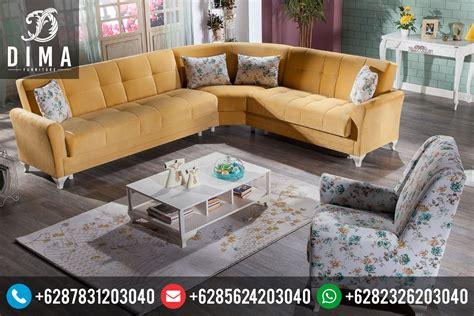 Kursi Sofa Sudut Terbaru set sofa kursi tamu sudut l minimalis vintage terbaru