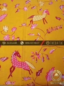 Jual Sho Kuda Di Cirebon jual batik tulis cirebon motif kuda pink latar kuning thebatik co id