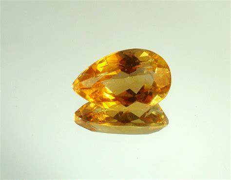 citrine pear faceted gemstone ct108 ebay
