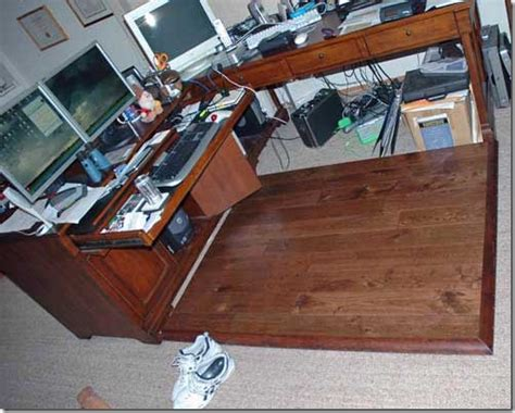 diy wood floor l a project hardwood chair mat