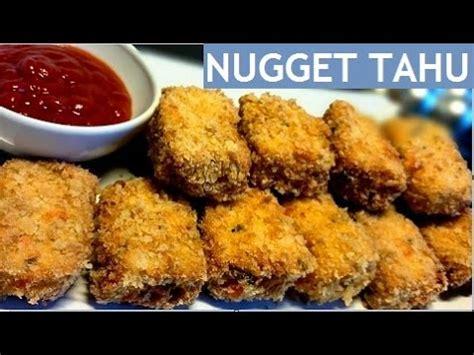 youtube membuat nugget tahu resep nugget tahu tofu nugget recipe youtube